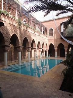 Un oasis en el laberinto de Marrakech.