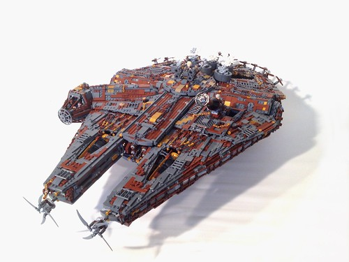 Steampunk Millennium Falcon, by markus1984, on Eurobricks