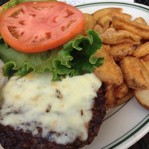 The Dubliner burger