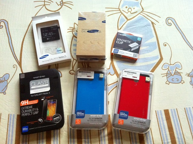 Samsung Galaxy Note 3 (Jet Black) 2nd + Accessories