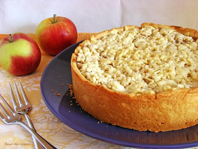австралийский яблочный пирог 1
