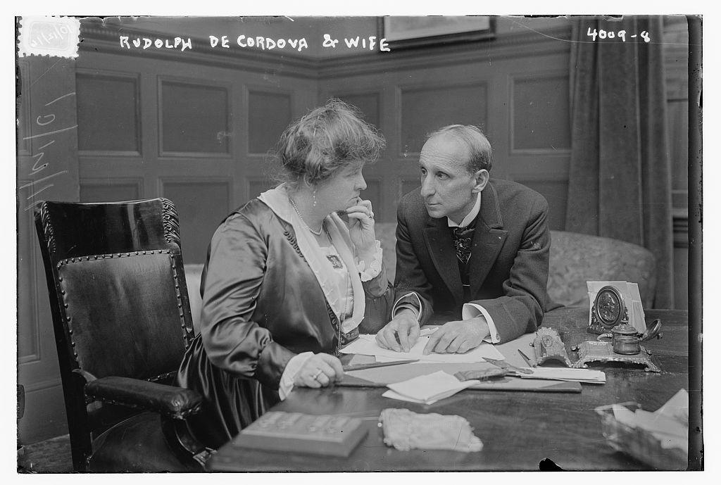 Rudolph De Cordova & wife (LOC)