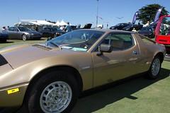 de tomaso pantera(0.0), lamborghini jalpa(0.0), race car(1.0), automobile(1.0), maserati merak(1.0), vehicle(1.0), performance car(1.0), maserati bora(1.0), land vehicle(1.0), luxury vehicle(1.0), coupã©(1.0), supercar(1.0), sports car(1.0),