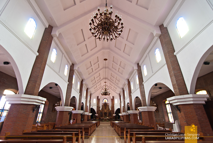 Inside the Old Dagupan Cathedral
