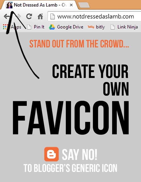 Blogging Tips: Create your own favicon and stand out from the crowd