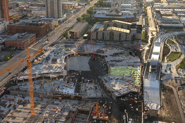 New Edmonton Arena Construction