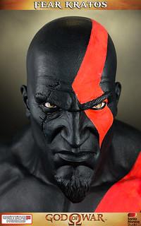 惡夢戰神Kratos等比胸像推出