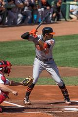 pitch(0.0), pitcher(0.0), softball(1.0), sports(1.0), college softball(1.0), college baseball(1.0), team sport(1.0), baseball field(1.0), infielder(1.0), baseball player(1.0), catcher(1.0), bat-and-ball games(1.0), ball game(1.0), baseball(1.0), athlete(1.0),