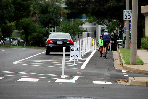 Why build protected bike lanes, in one happy quote