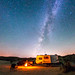 Camping under the Milky Way in Anza-Borrego Desert State Park by slworking2