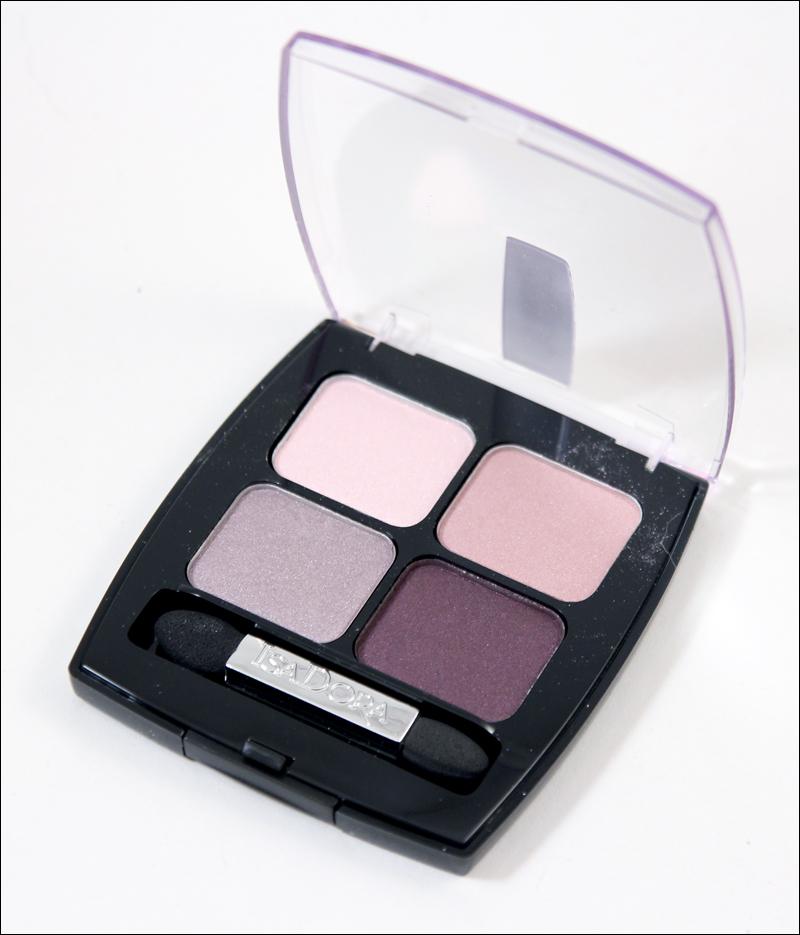 IsaDora pink pashmina eyeshadow quartet1