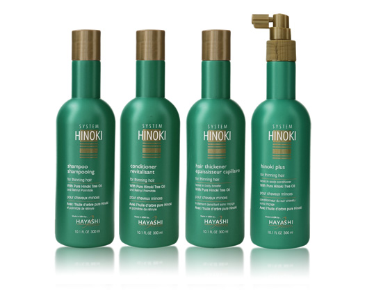 System Hinoki hair loss haircare shampoo, conditioner leave in scalp conditioner body booster review