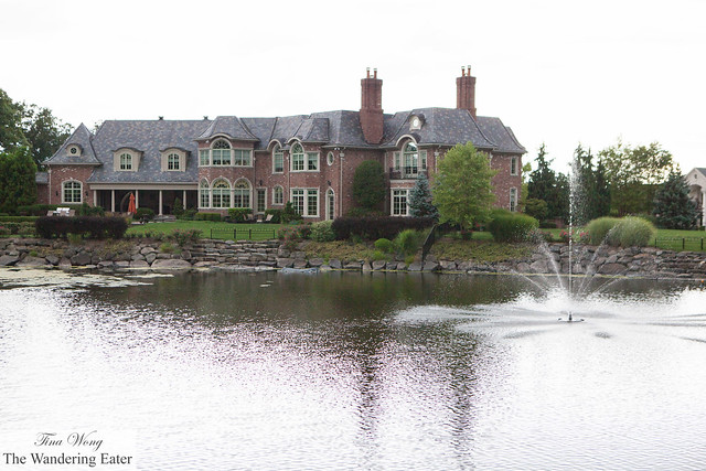 Gorgeous mansion across this pond