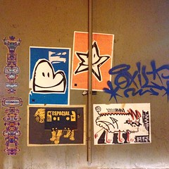 #wheatpaste selection  #Espacial  #Sampa #streetart