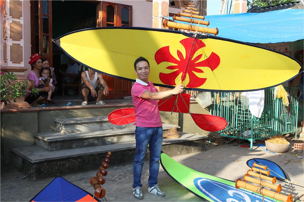 Hoàng Phú và chiếc diều sáo của CLB Diều Hoa Phượng Đỏ