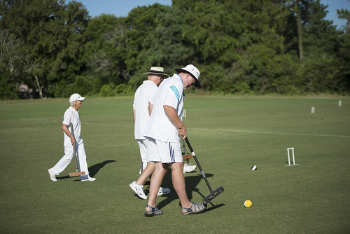 2014 Senior Games - Golf Croquet