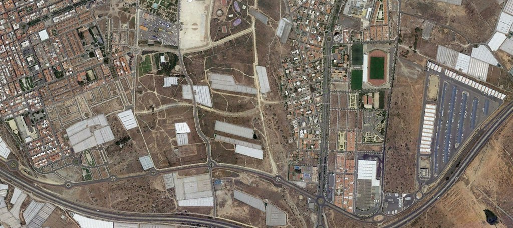 el ejido, almería, the chosen, después, urbanismo, planeamiento, urbano, desastre, urbanístico, construcción, rotondas, carretera