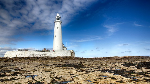 St Mary's Lighthouse by Paul Gregory