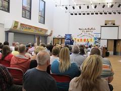 Nicola Sturgeon at public meeting in Wallacewell Primary School, 2014