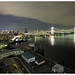 Tokyo Bay with Rainbow Bridge 7489