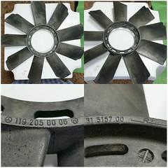 #For#Sale#Used#Parts#Mercedes#Benz#OEM#R129#SLClass#alyehliparts#alyehli#UAE#AbuDhabi#AlFalah#City  For Sale Mercedes Benz OEM R129 SL Class Used Parts - FAN RADIATOR  Part # : 1192050006 - 119 205 00 06  Fits: 119.960, 119.970, 119.971, 119.972, 119.974,