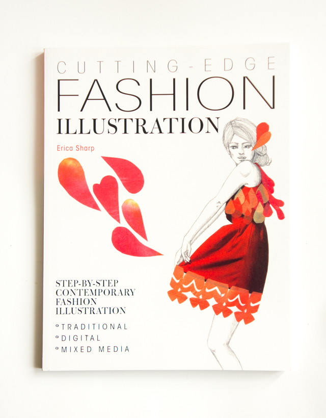 cutting edge fashion illustration - book cover