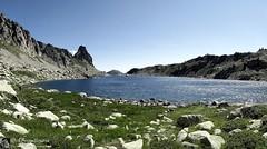 Dal rifugio Questa a Le Boreòn (Alpi Marittime - Mercantour)