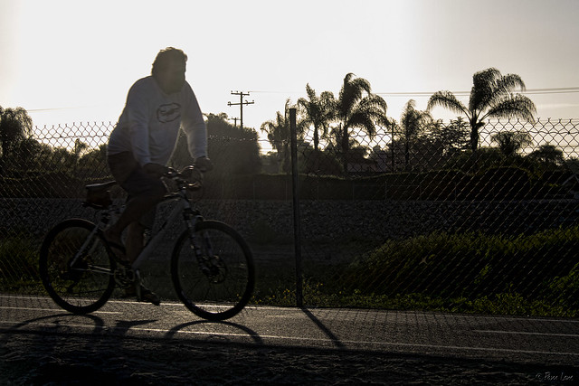 Biking San Gabriel River