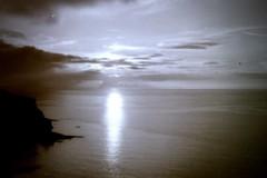 North Cliffs Sunset [Olympus Trip 35]