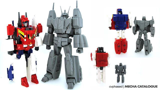 Transformers Masterpiece MP-24 Star Saber - Prototype Comparison Shots