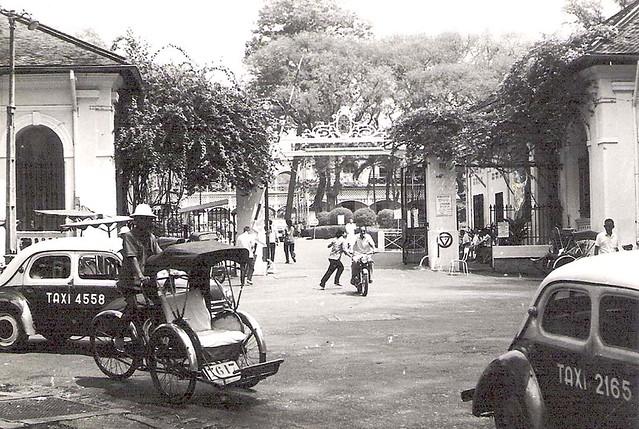 Saïgon, l'Hôpital Grall en 1975. La fin approchait, d'où l'urgence de prendre des clichés de cet établissement célébre dans toute l'Asie du Sud-Est