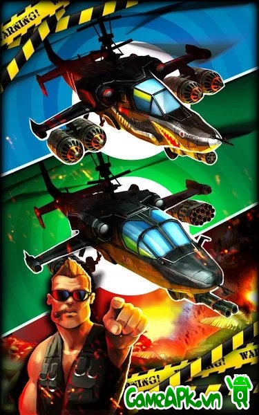 HELI HELL v1.0.21 hack full tiền cho Android