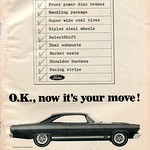 1967 Ford Fairlane Advertisement Hot Rod December 1966