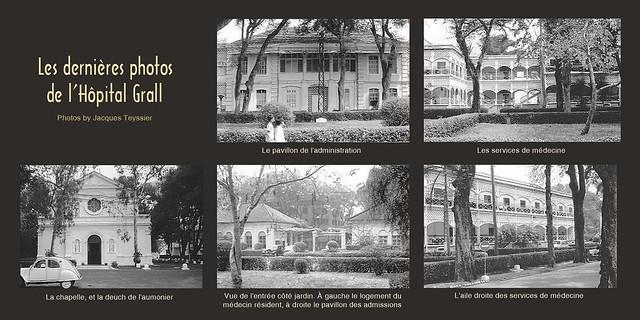 Les dernières photos de l'Hôpital Grall - Những hình ảnh cuối cùng của Bệnh viện Grall