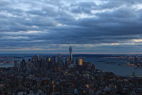 View from the Empire State Building