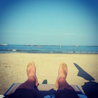 תמונה של Spiaggia35 Bagno Ambasciata ליד Cesenatico. square squareformat iphoneography instagramapp xproii uploaded:by=instagram