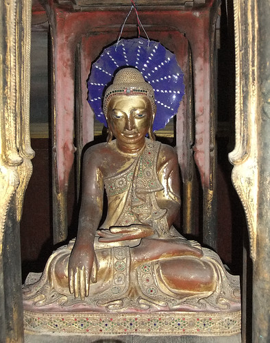 Buddha at the Mandalay Royal Palace