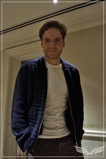The Establishing Shot: DANIEL BRÜHL AT THE A MOST WANTED MAN GALA SCREENING - CHARLOTTE STREET HOTEL LONDON