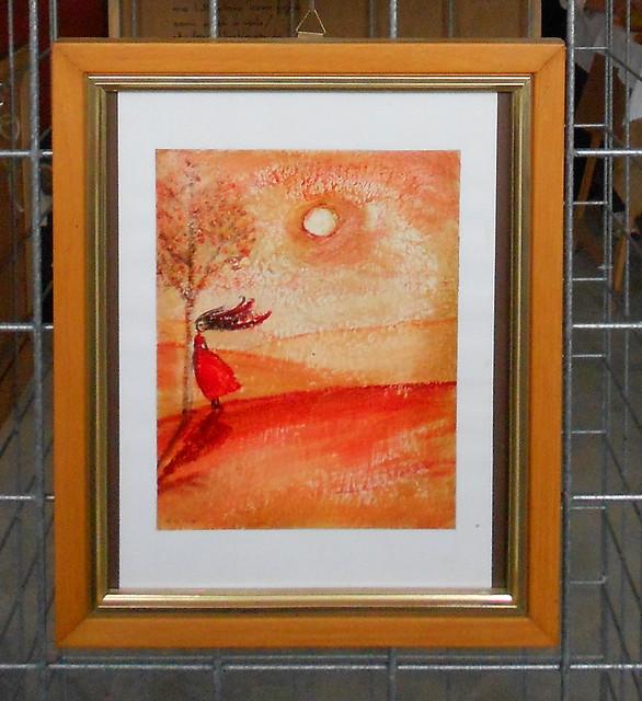 rosso, vento, vestito rosso, Alice Negrelli