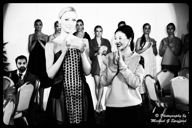 DSC_3717 Yes Fashion Show London Fashion week at Millennium Gloucester Hotel Designer Dagmara Džurbová