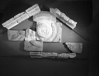Roman Baths Pediment