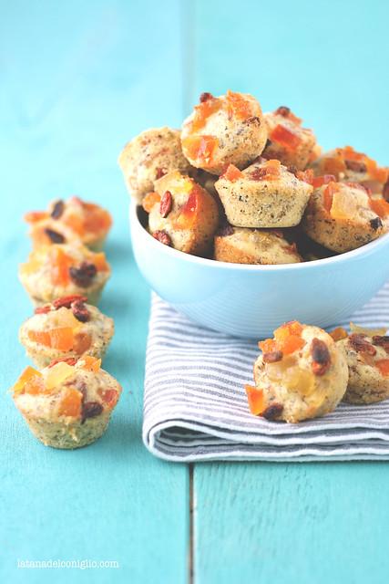 Muffins multivitaminici alle bacche di goji e frutta secca (senza glutine)5