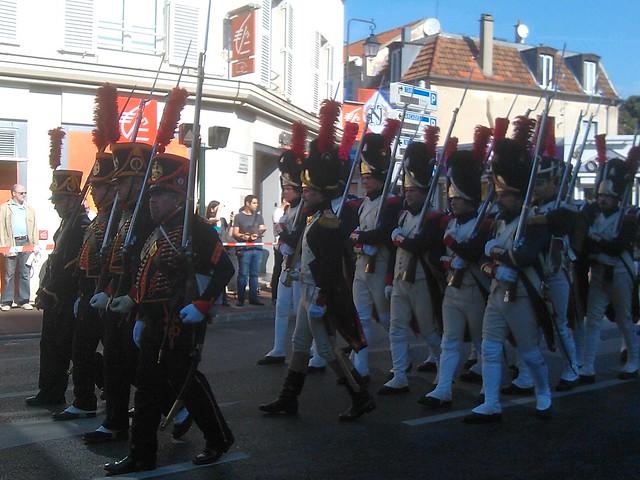 Parade impériale à Rueil Malmaison