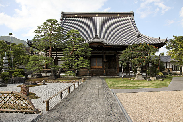 cemetery temple and zen gardens