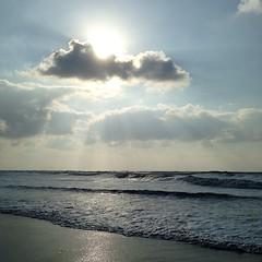 Strandweer...en er was bijna niemand #Texel