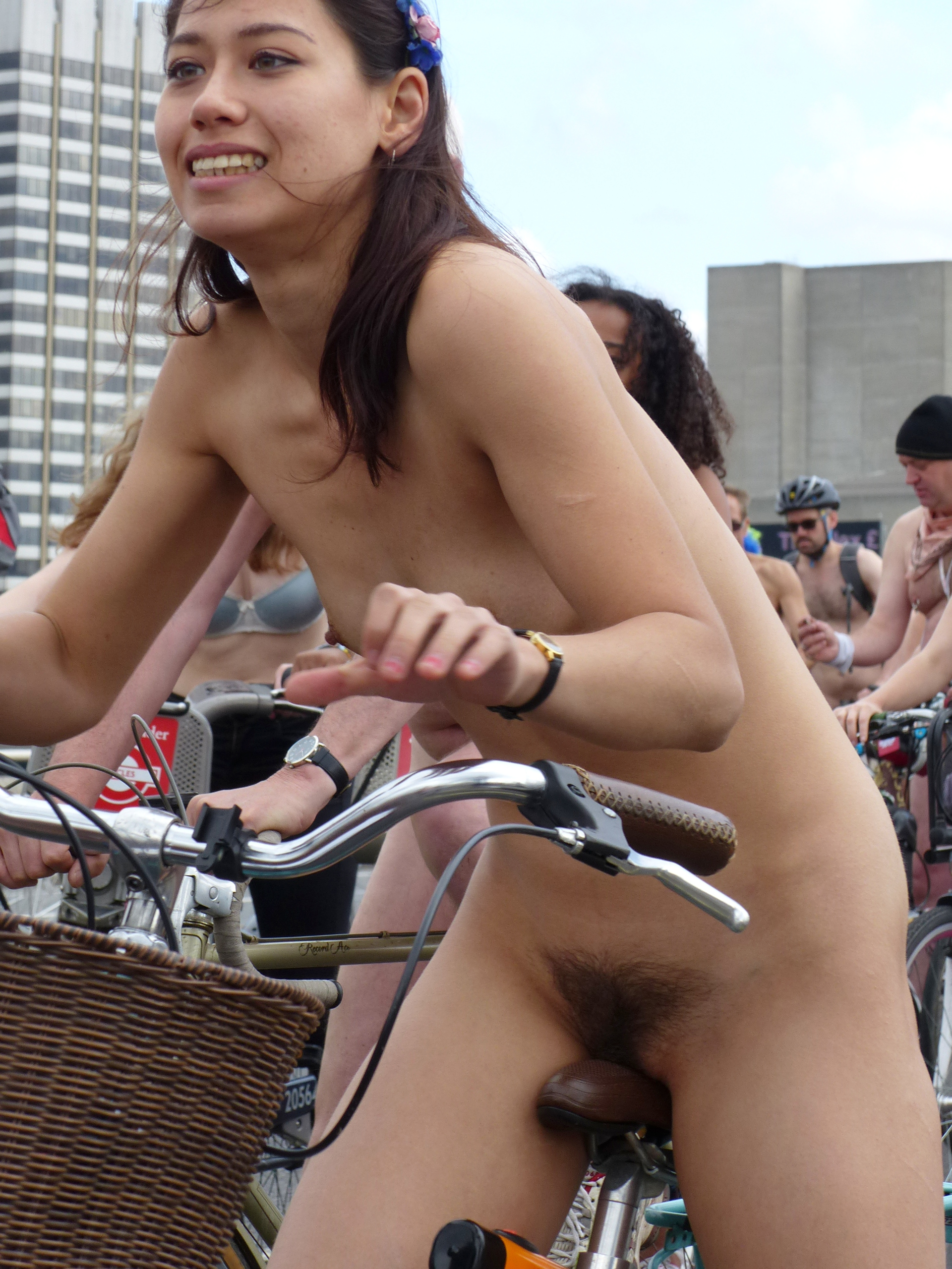 Apologise, but, Asian riding bikes nude