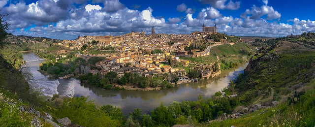 Mirador Del Valle view point, Toledo, Spain.