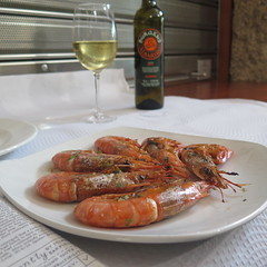 and some langoustines