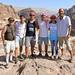Con unos amigos jordanos