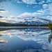 Rundle Morning Blue by Kirk Lougheed